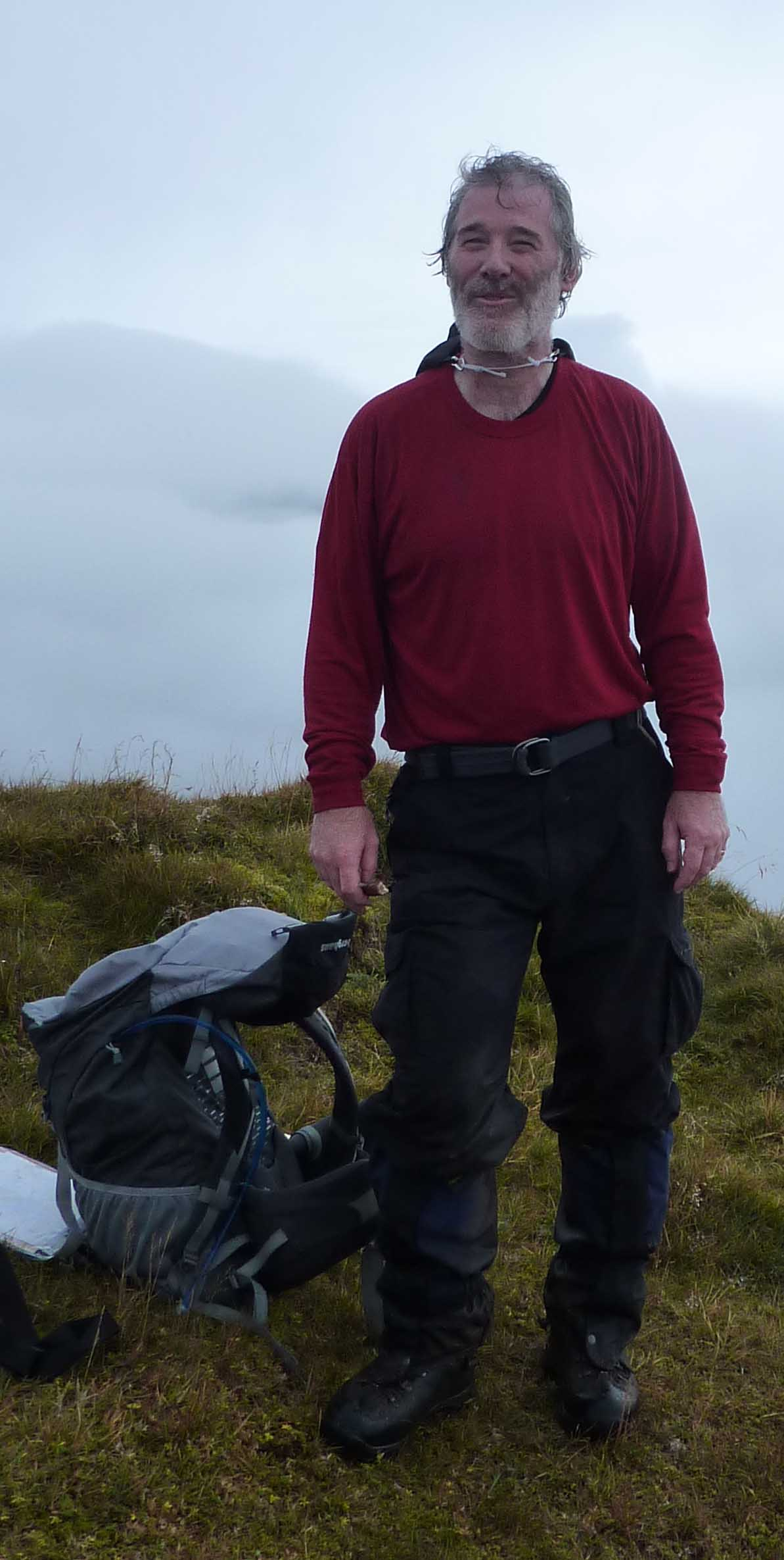 Almost on top of the Last Munro - Ciste Dhubh